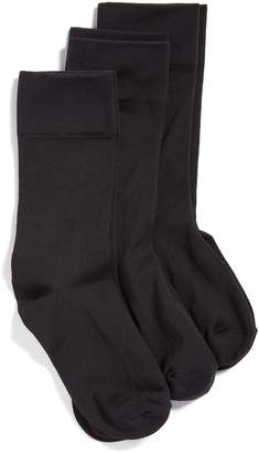Hue 3-Pack Ultrasmooth Crew Socks