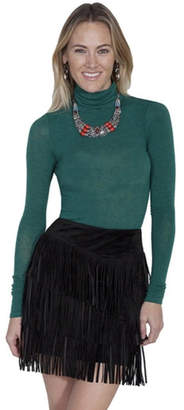 Scully Flirty Fringe Skirt