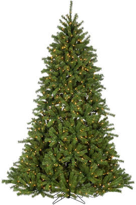 Sterling Tree Company 7.5Ft Pre-Lit Crystal Pine