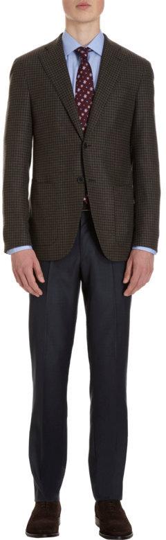 Barneys New York Check Blazer