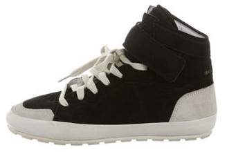 Etoile Isabel Marant Suede High-Top Sneakers