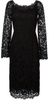 Dolce & Gabbana floral lace dress $2,995 thestylecure.com