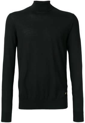 Versace turtleneck slim-fit jumper