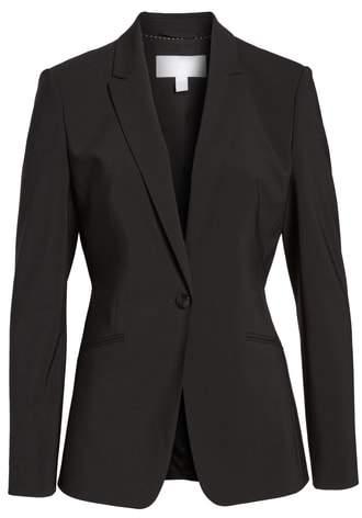 'Jabina' Stretch Wool Suit Jacket