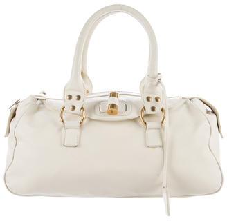 Saint LaurentYves Saint Laurent Leather Handle Bag