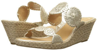 Jack Rogers Platinum Shelby Wedge