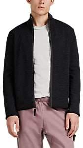 James Perse Men's Y/osemite Wool-Blend Zip-Front Jacket - Charcoal