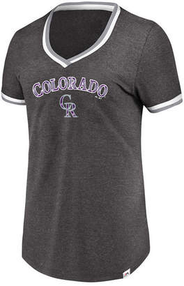 Majestic Women's Colorado Rockies Driven by Results T-Shirt