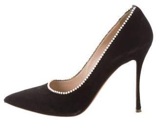 Nicholas Kirkwood Embellished Pointed-Toe Pumps