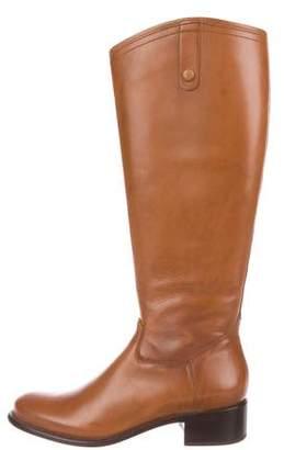 Corso Como Leather Knee-High Boots
