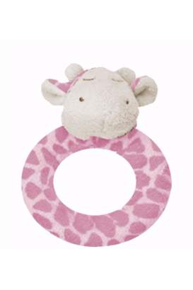 Angel Dear Giraffe Ring Rattle