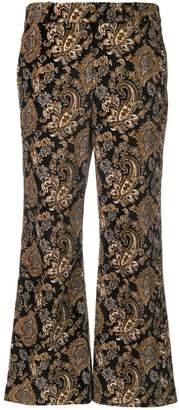 MICHAEL Michael Kors baroque pattern trousers