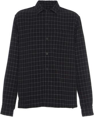 Ami Wool-Blend Check Shirt