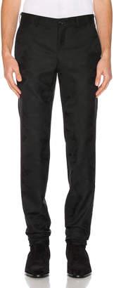 Comme des Garcons Camo Trousers in Black   FWRD