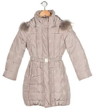 MonnaLisa Girls' Hooded Puffer Coat
