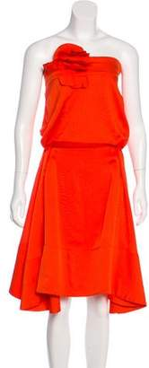 Sonia Rykiel Strapless Mini Dress