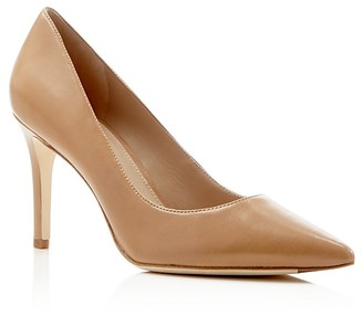 Via Spiga Carola High Heel Pointed Toe Pumps $195 thestylecure.com