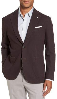Lubiam Classic Fit Cotton Blend Blazer