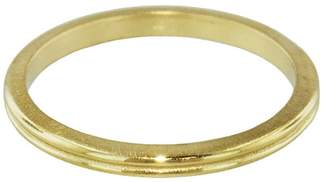 Megan Thorne Double Thin Band - Yellow Gold