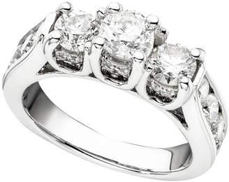 Macy's 14k White Gold Ring, Diamond (1-3/4 ct. t.w.)