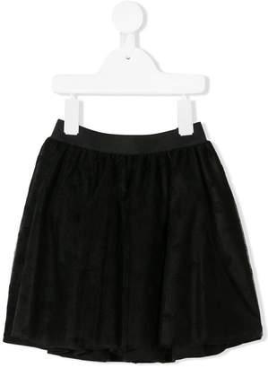 Miss Blumarine tonal monogram skirt
