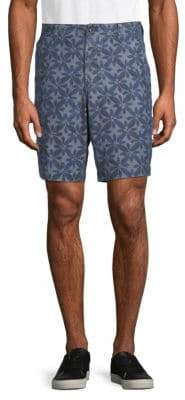 French Connection Printed Cotton Shorts