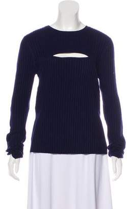 Frame Scoop Neck Knit Top w/ Tags