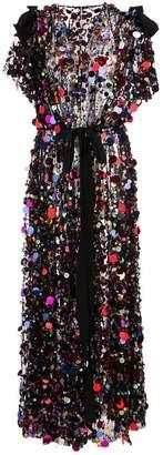 Carolina Herrera sequin-embellished long dress