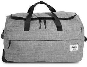 Herschel Wheelie Raven Travel Duffel Bag