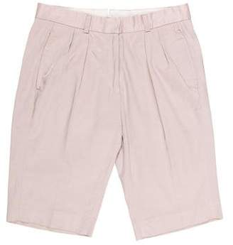 Golden Goose Mid-Rise Tailored Shorts