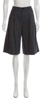Gucci Wool Knee-Length Shorts
