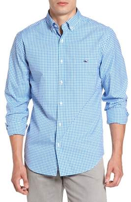 Vineyard Vines Seafloor Tucker Gingham Sport Shirt