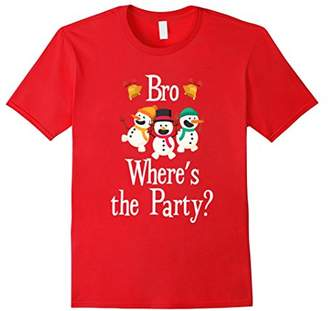 Bro Where's The Party? T-Shirt