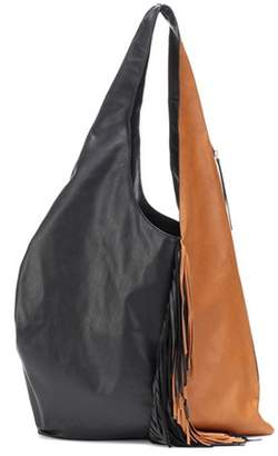 Isabel Marant Eenda fringe-trimmed leather bag