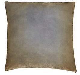 Kevin OBrien Kevin O'Brien Ombré Velvet Pillow-Gold, Nickel