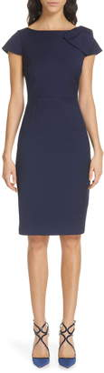 Ted Baker Zameldd Bow Detail Sheath Dress