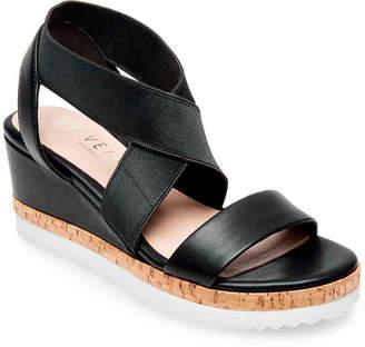 2ed57001a80 Steve Madden Black Wedge Heel Women s Sandals - ShopStyle