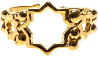 LeiVanKash cut out star open ring