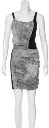 Helmut Lang Sleeveless Printed Dress