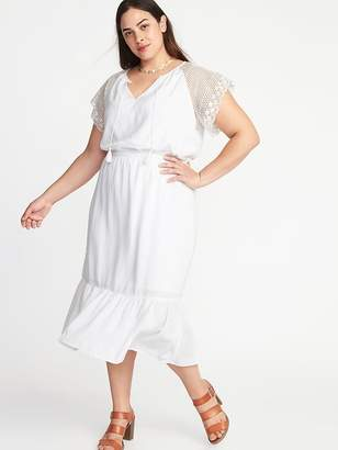 Plus Size Crochet Dress Shopstyle