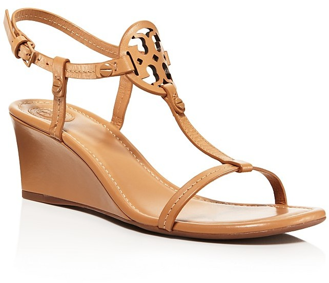 Tory BurchTory Burch Miller T Strap Wedge Sandals