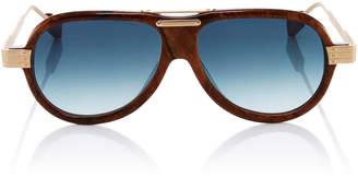 Morgenthal Frederics Rosie Assoulin X Astro Pop Aviator Sunglasses