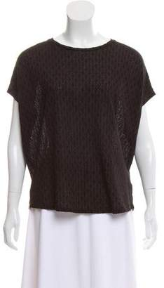 Billy Reid Short Sleeve Knit Top