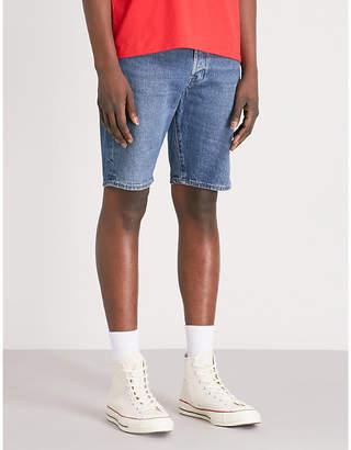 Levi's 501 stretch-denim shorts