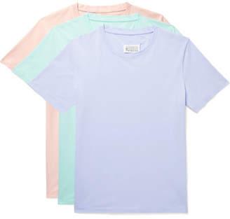 Three-Pack Slim-Fit Cotton-Jersey T-Shirts