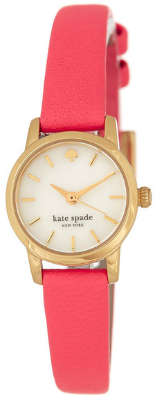 Kate SpadeKate Spade New York Women&s Tiny Metro Leather Watch