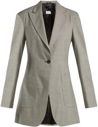 Maison Margiela Pied de poule wool jacket