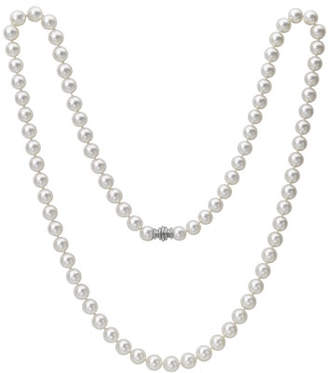 Assael Single-Strand Akoya Pearl Necklace, 33""