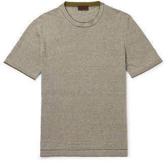 Altea Striped Linen T-Shirt
