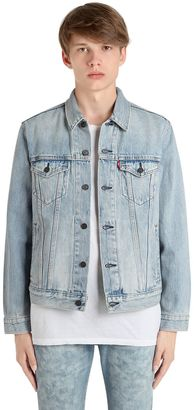 Washed Denim Classic Trucker Jacket $156 thestylecure.com